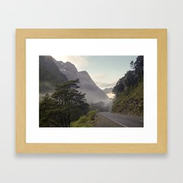 //03-01 ROAD TO THE SOUND Framed Art Print