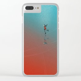Winter picture Clear iPhone Case