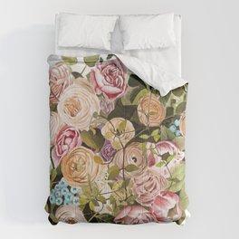 Trailing Jade Bouquet Comforters