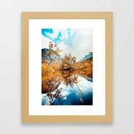Norway dreams Framed Art Print
