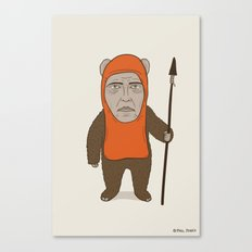 Ewoken Canvas Print
