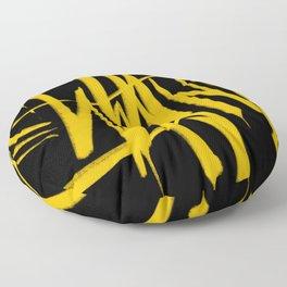 Graffiti Tag Floor Pillow