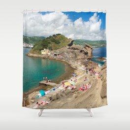 Islet of Vila Franca do Campo Shower Curtain