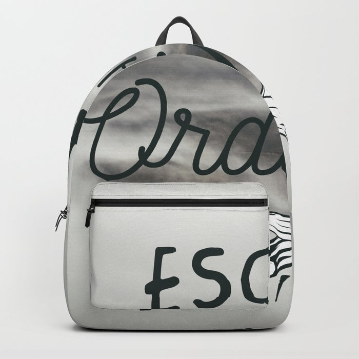 Escape the ordinary Backpack