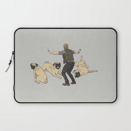 Jurassic Pugs Laptop Sleeve