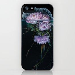 Jellyfish Ikebana iPhone Case