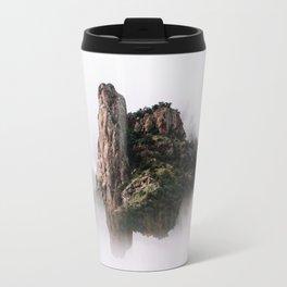 Fantasy Floating Mountain Travel Mug