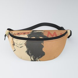 Wanderlust harpers magazine mai 1897 dame aux Fanny Pack