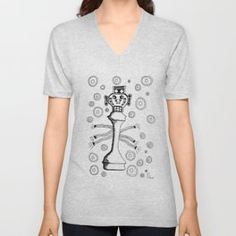 Check Mate Unisex V-Neck