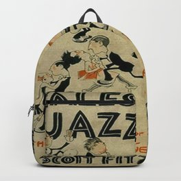 Tales of the Jazz Age vintage book cover - Fitzgerald Backpack