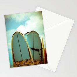 Vintage Surf Boards Stationery Cards