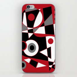 Abstract #505 iPhone Skin