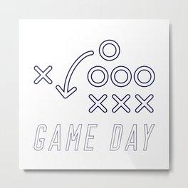 Game Day Metal Print