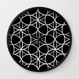 Flower of life pattern Wall Clock