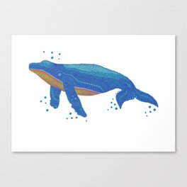 Spot A Whale Canvas Print