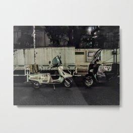 Tokyo Mopeds Metal Print