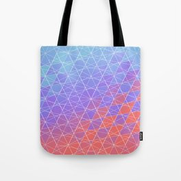 Crystallized Spider Web Tote Bag