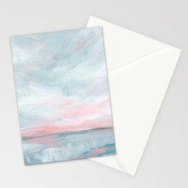 Waves of Change - Stormy Sea Seascape Stationery Cards