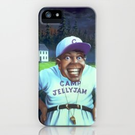 The Horror at Camp Jellyjam iPhone Case