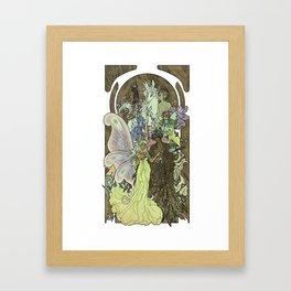 Fairy Court Framed Art Print