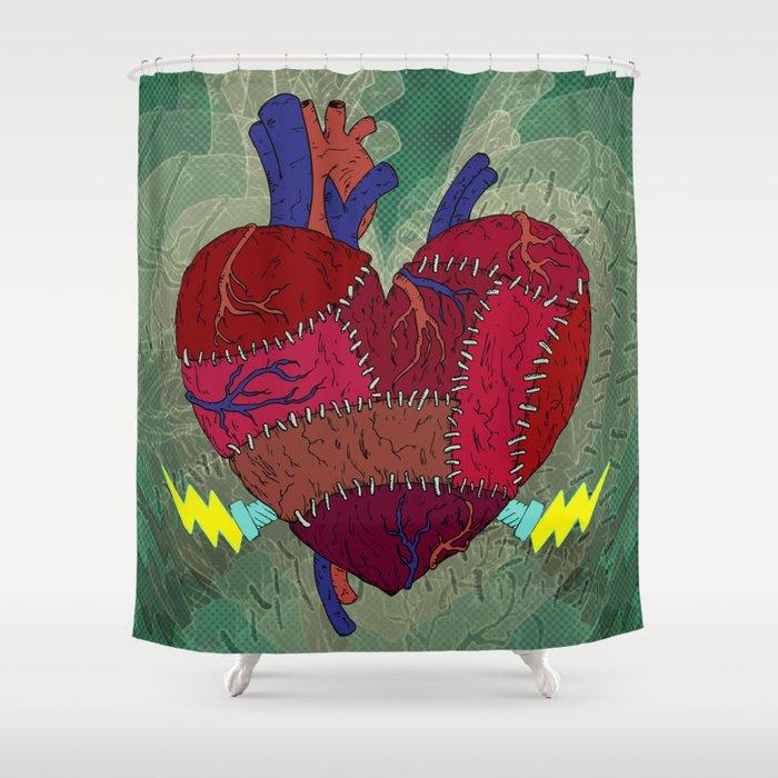Heartenstein Shower Curtain