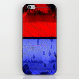 Blowing Hot & Cold iPhone Skin