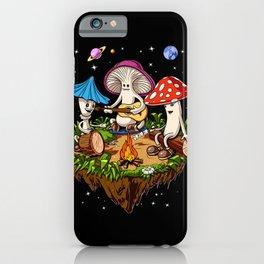 Magic Mushrooms Hippie Fungi iPhone Case