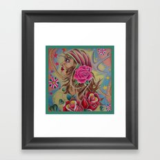 Pirate Wench Framed Art Print