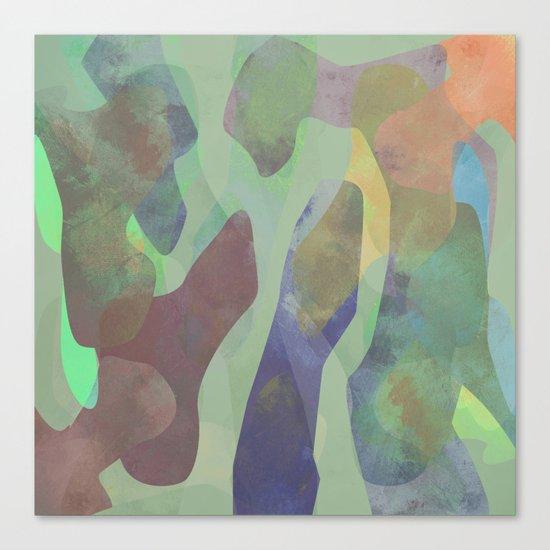Camouflage XXI Canvas Print