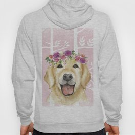 Animals in Forest - The cute retriever Hoody