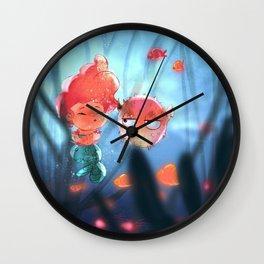 mermay5 Wall Clock