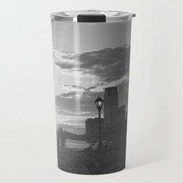 Sunset over the Hudson Travel Mug
