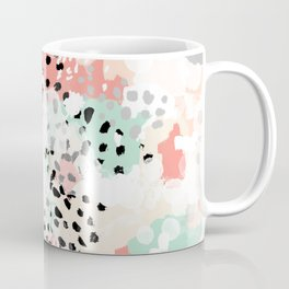 Phoebe - abstract painting minimal gender neutral trendy nursery decor home office art Coffee Mug