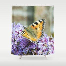 Butterfly IX Shower Curtain