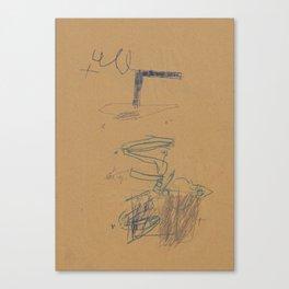 recognition 5 Canvas Print