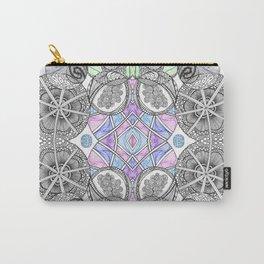 Multi Zentangle Zendoodle Zenart Design Carry-All Pouch