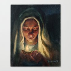 Wise Virgin Canvas Print