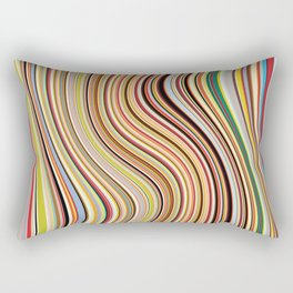 Old Skool Stripes - Flow Rectangular Pillow