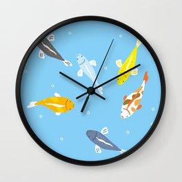 Carp of Japan Wall Clock