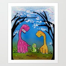 When I grow up I want to be just like you Art Print