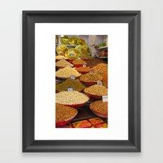 INDIA - Nuts Framed Art Print