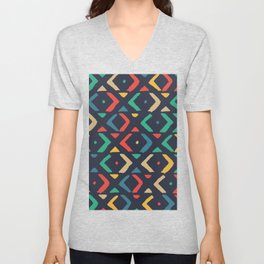Colors of boomerang Unisex V-Neck