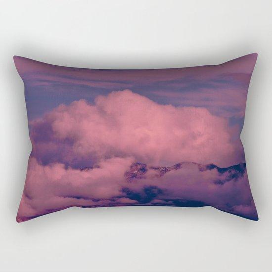 Winter Storm Clouds Rectangular Pillow