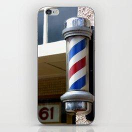 Barber Sign iPhone Skin