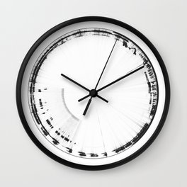Sound of Earth - Van Allen Belt 2 Wall Clock
