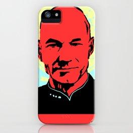 Captain Jean Luc Picard iPhone Case