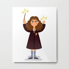 Hermione Granger Metal Print