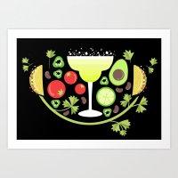 mexican food Art Print