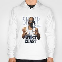 2pac Hoodies featuring Snoop Dogg // West Coast by Gold Blood