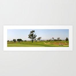 Golf Fairway Art Print